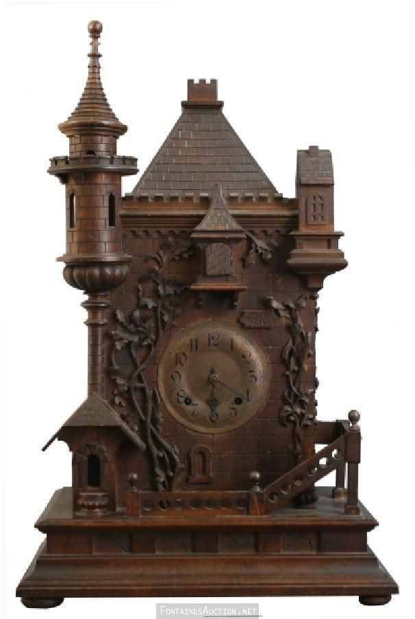 Antique clock cuckoo antique clocks pinterest How to make a cuckoo clock