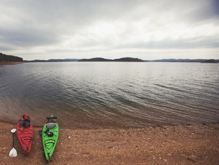 Broken bow lake carl zoch kayak adventures pinterest for Broken bow lake fishing