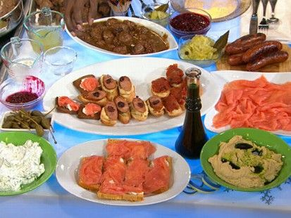 "Marcus Samuelsson's Helga's Meatballs from ""The Taste"". Lot..."