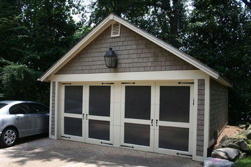 Best 2 Car Shake Shingle Garage Garages Pinterest 400 x 300