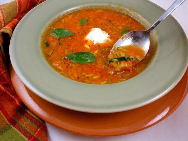 tomato zucchini soup | Yumm! | Pinterest