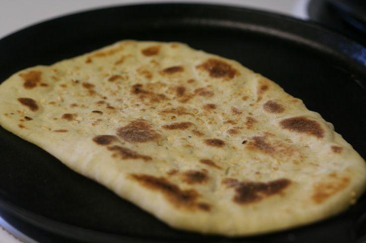 cilantro naan homemade naan with malai kofta noni afghani afghan flat ...