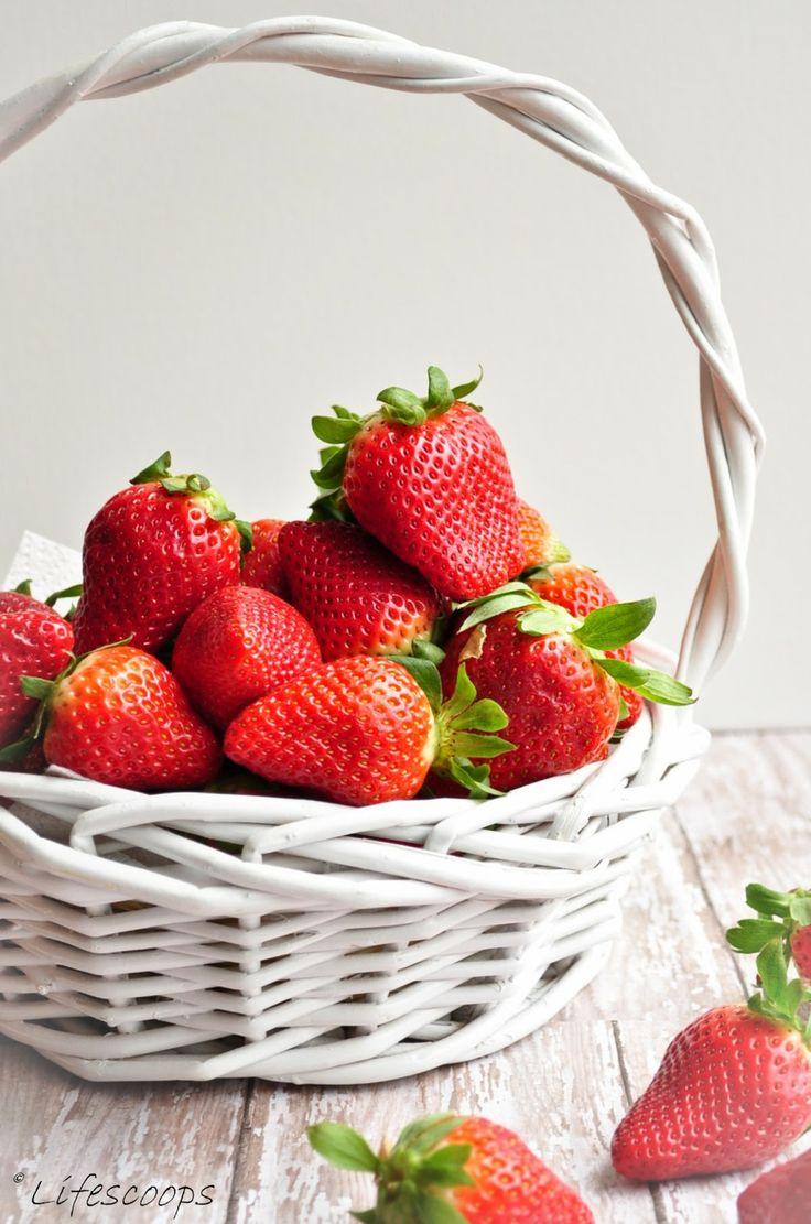 Strawberry from Low Fat Greek Yogurt Strawberry Scones (Egg Free) Tips ...