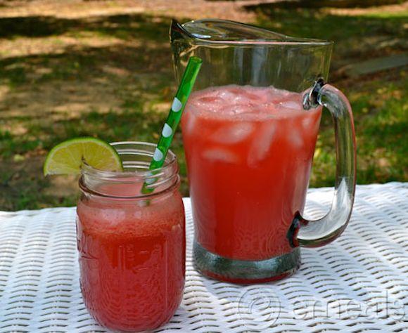 Watermelon Agua Fresca Recipe | Yum! | Pinterest