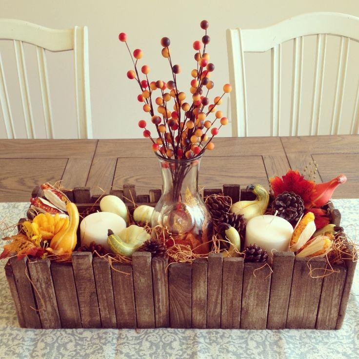 My fall centerpiece themed party ideas pinterest