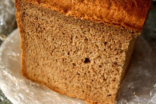 whole wheat bread in bread machine