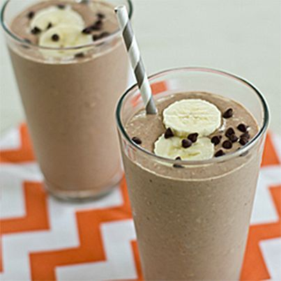 Mexican Chocolate Breakfast Shake | HEALTHY RECIPES 24/7 | Pinterest