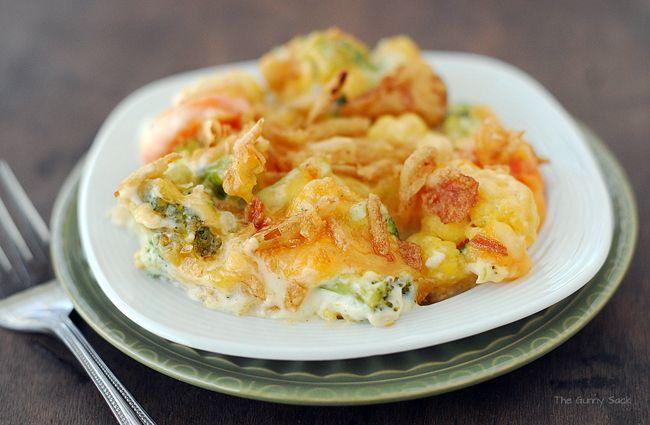 Creamy Veggie Casserole | Recipe