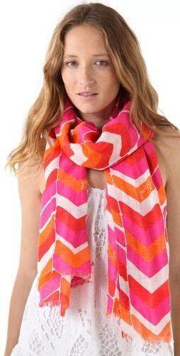 juicy couture chevron scarf