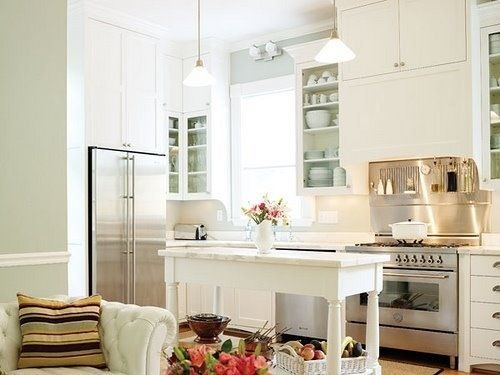 Light & airy kitchen  Dream Kitchen  Pinterest
