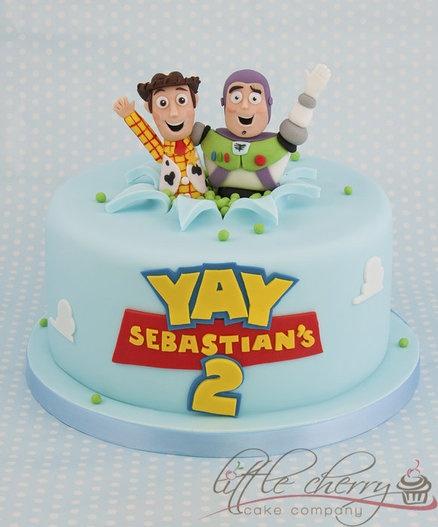 Toy Story Cake  Cake by littlecherry