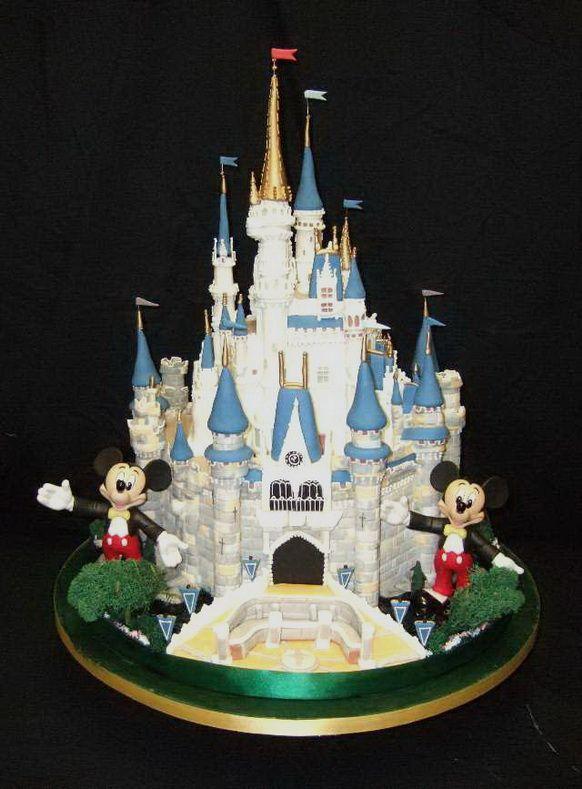 Disney Wedding Cake Images : Disney Wedding Cakes Disney Pinterest