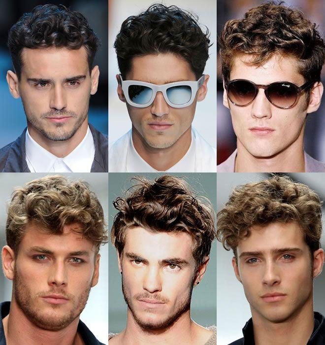 Мужские стрижки с вьющимися волосами