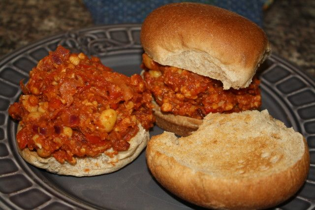 Sloppy Chickpea & Tempeh Joe's | Recipe