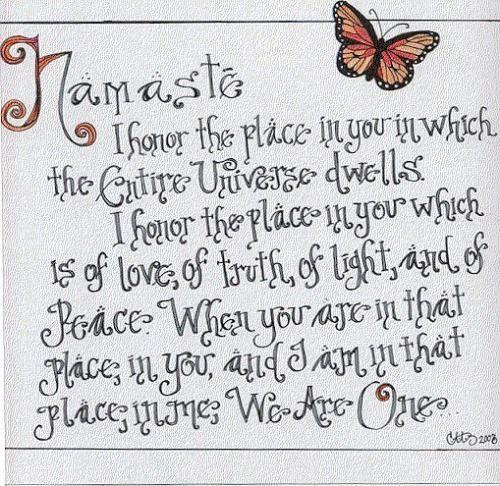 Funny Namaste Quotes | namaste quote