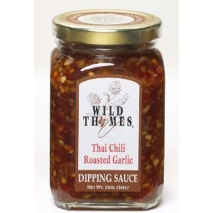 Wild Thymes Thai Chili Roasted Garlic Dipping Sauce - can't wait to ...