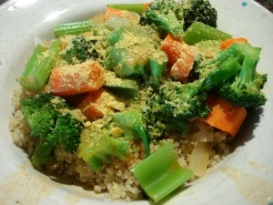 Spicy Thai Coconut Quinoa Recipe — Dishmaps