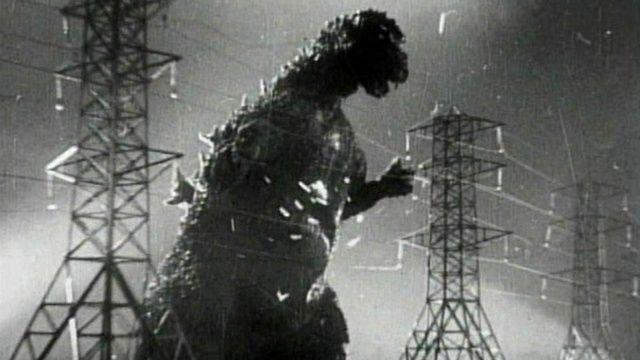 Godzilla      and Raymond BurrRaymond Burr Godzilla