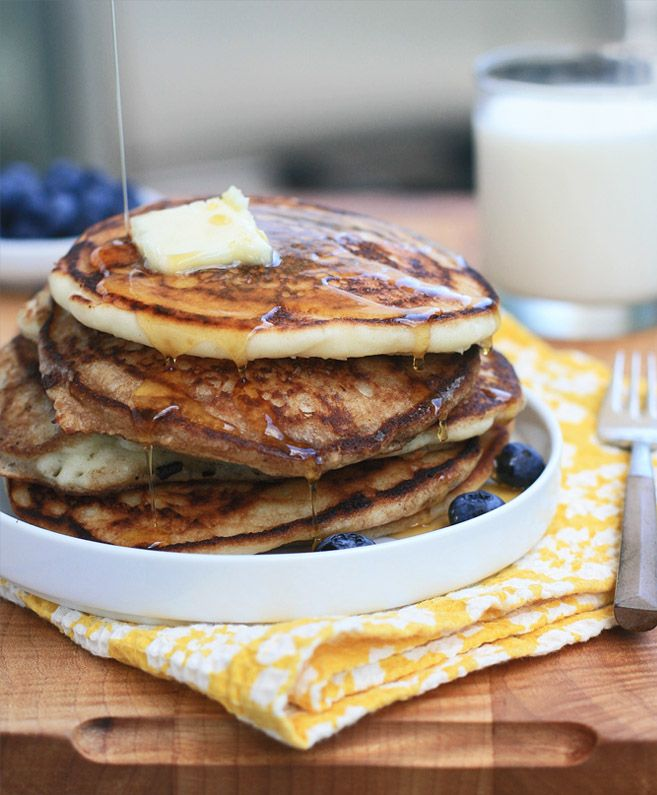 Gluten-Free Buttermilk Pancakes | Girl Cooks World | Let's Eat! (Foods ...