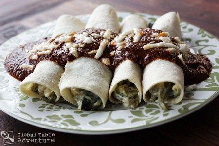 Cheesy Roasted Poblanos (Rajas con Crema) | Recipe