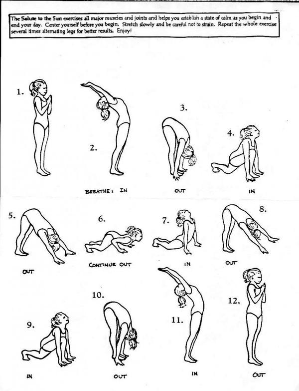 basic yoga poses | water falls and rainbows | Pinterest