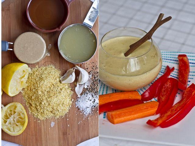 Tahini Lemon Garlic Salad Dressing | Yummalicious | Pinterest