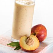 Peach Melba Smoothie Recipe | Ninja Smoothie Recipes