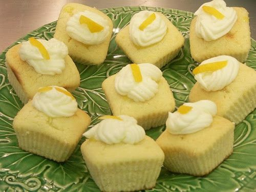 Meyer Lemon Limoncello Cupcakes | We Love To Bake! | Pinterest