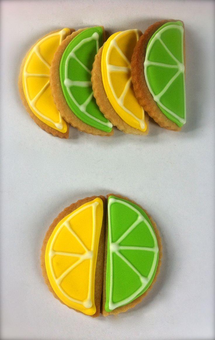 ... Lemon 'n Lime Iced Cookies   Cupcake Columbia's Iced Cookies   P