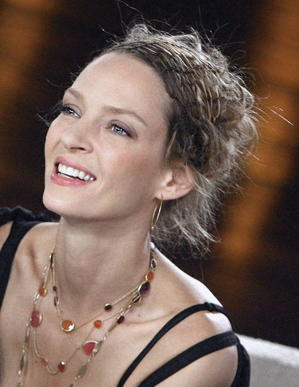 uma thurman hairstyles : How To Get Uma Thurman Hairstyles LONG HAIRSTYLES