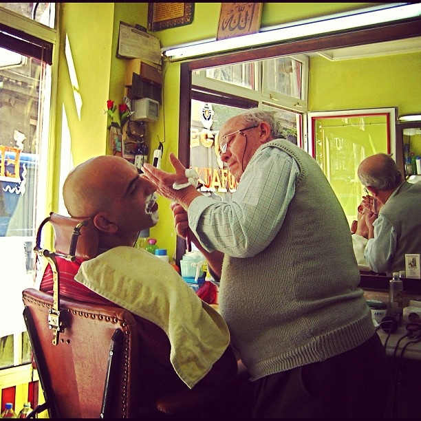 Barber Paradox : The Barber Paradox: Who shaves the barber? ;{) - @barberboss- # ...