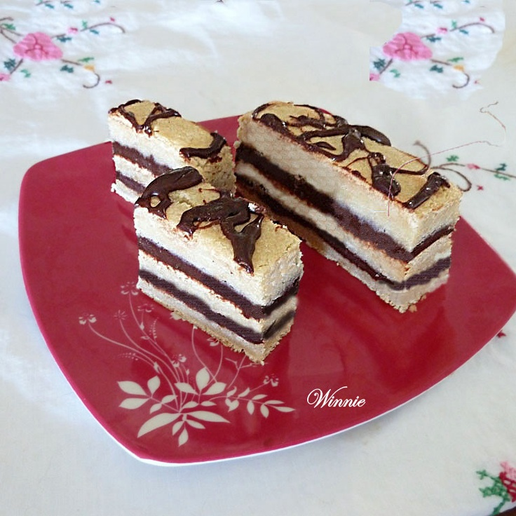 blondies filled with chocolate ganache | desserts I will be making in ...