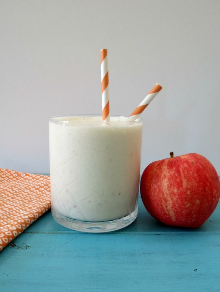 Caramel Apple Protein Smoothie by Peanut Butter and Peppers | Protein ...