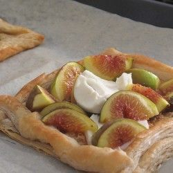 Figs and goat cheese tart | Gastromomia | Pinterest