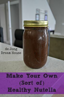 Homemade Nutella (Dairy Free) | Recipes Condiments and Mixes | Pinter ...
