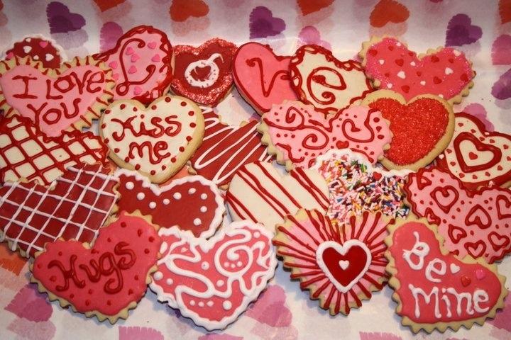 Valentine Sugar Cookies | Sugar cookies | Pinterest