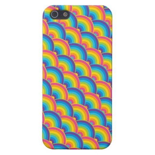 Colorful Rainbows Cool iPhone 5 Cases for Girls
