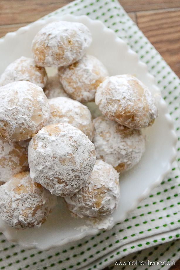 Snowball Cookies | Mother Thyme