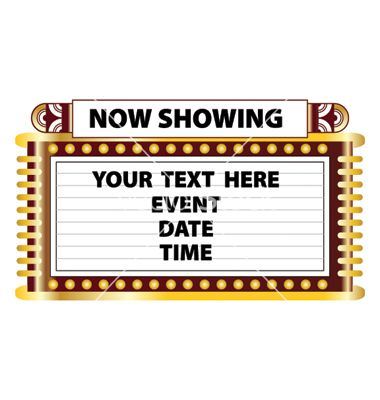 Now showing blank sign related keywords now showing for Theatre sign clipart