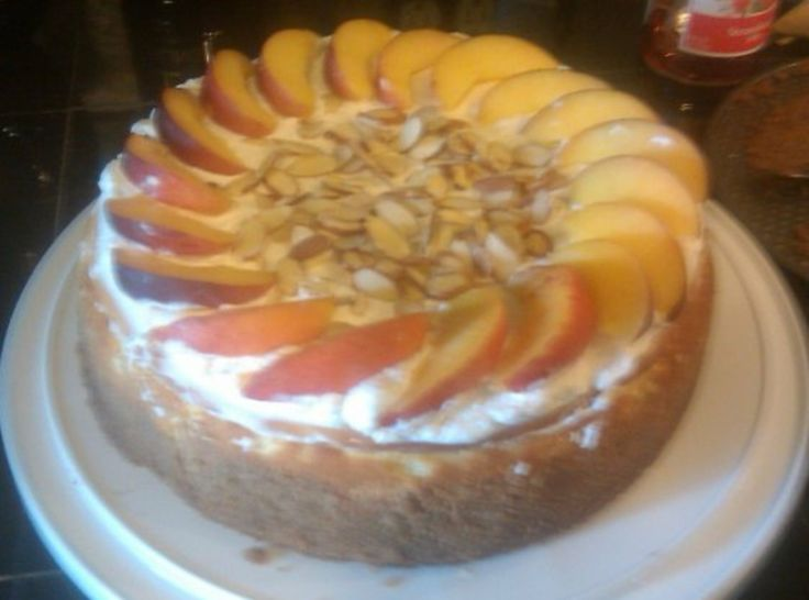 Amaretto Cheesecake | Deliciousness | Pinterest