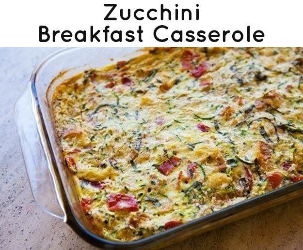 Zucchini And Green Chile Egg Breakfast Casserole Recipe ...