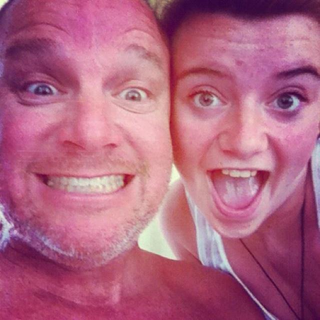 Like father, like daughter.