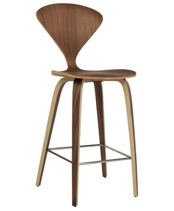 Norman cherner counter stool replica kitchen stools pinterest - Norman cherner barstool ...
