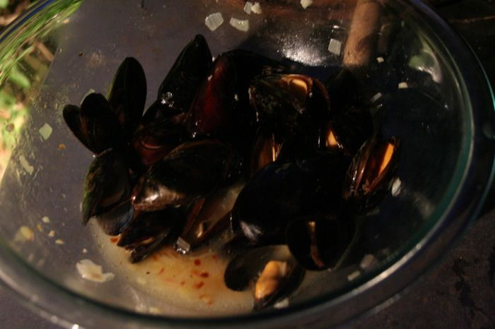 Grilled Mussels | Food - Seafood | Pinterest