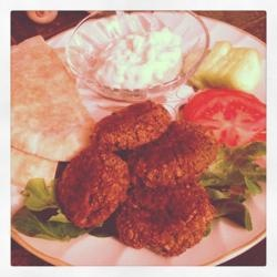 Seans Falafel and Cucumber Sauce Recipe - Allrecipes.com