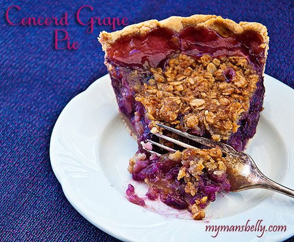 fresh fruit pie this delicious purple delight is a concord grape pie ...