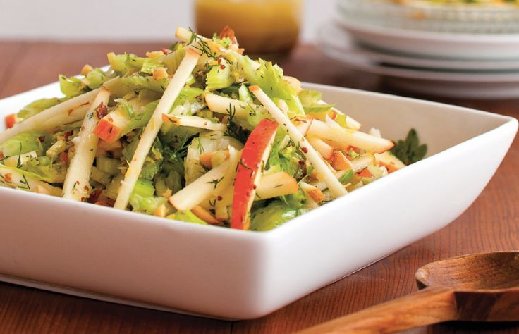 "Apple & Celery Salad With Toasted Hazelnuts Recipe from ""APPLES - Fr..."