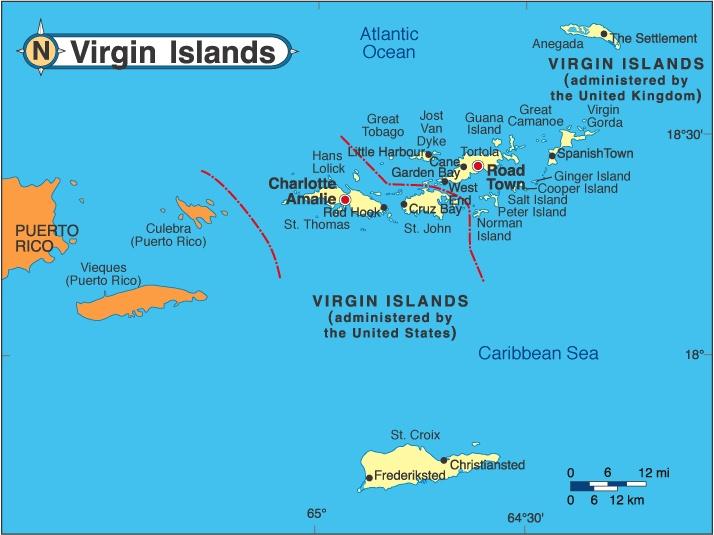 Uns Virgin Islands Zeitungen