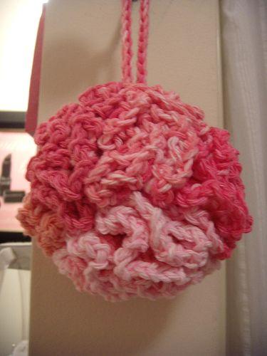 Crochet Bath Puff Pattern