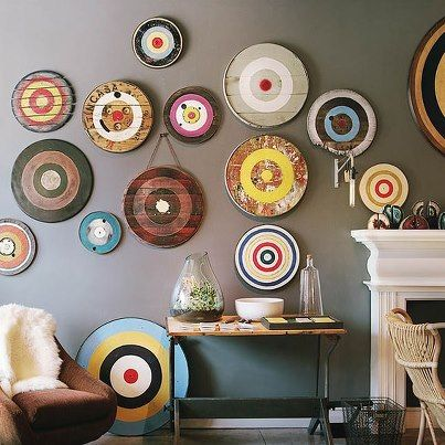 Target wall archery home decor archer pinterest for Home decorations at target